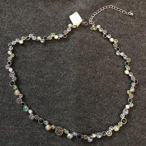 NWT Lia Sophia HAPPY HOUR Necklace pastel colors